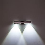 billige Vegglamper-moderne 6w led wall sconce light vinkeljusterbare dekorative spotlights for hjemmet studio sengetid soverom lys