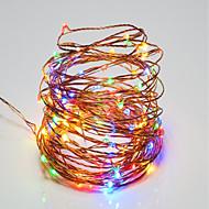 billige -10W Lysslynger 100 <5V 10m 100 leds Varm Hvit Hvid RGB Rød Gul Blå Grøn