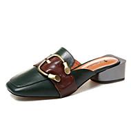 レディース 靴 本革 PUレザー 夏 ベーシックサンダル サンダル 用途 カジュアル ベージュ グリーン