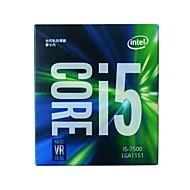 インテルcpuコンピュータプロセッサi5 7500 lga1151