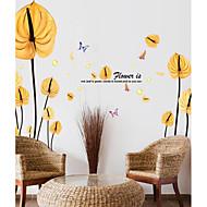 Dekorative Mur Klistermærker - Fly vægklistermærker Botanisk Stue