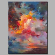 cheap Wall Art-Print Stretched Canvas - Abstract Artistic / Abstract / Modern / Contemporary