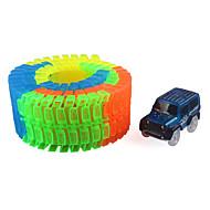 Schienen-Auto Spielzeug-Autos Klassisches Auto Spielzeuge Neuheit Nachts leuchtend Heimwerken Kind Stücke