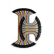 billige -80 stk. Mandlige til kvindelige loddefri bånddupont jumper-ledninger (4 og 8 tommer)