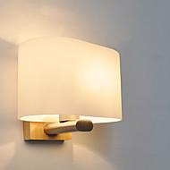 זול -פשוט מודרני / עכשווי קאנטרי מנורות קיר עבור עץ/במבוק אור קיר 220V 40W