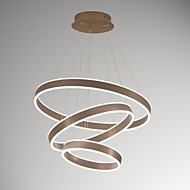 billige Takbelysning og vifter-UMEI™ Moderne / Nutidig Anheng Lys Omgivelseslys - Mulighet for demping, 220-240V 100-120V, Varm Hvit Hvit, LED lyskilde inkludert