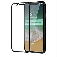 Karkaistu lasi Näytönsuojat varten Apple iPhone X Näytönsuoja Teräväpiirto (HD) 9H kovuus 3D pyöristetty kulma