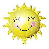 65cm * 65cm zonnebloem zon smiley zon aluminiumfolie ballonnen