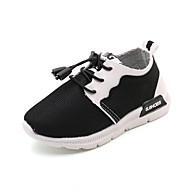 Chlapecké Obuv Syntetika Podzim Zima Pohodlné Atletické boty Chůze Přezky Klín Pro Sportovní Ležérní Bílá Černá Růžová