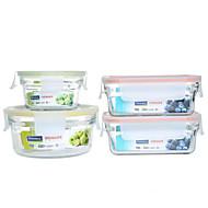 billiga Köksförvaring-4 Kök Glas Mat förråd