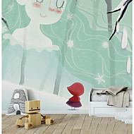 Trykt mønster Tapet til Hjemmet Moderne Tapetsering , Rent papir Materiale selvklebende nødvendig bakgrunns , Tapet