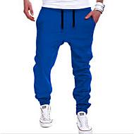 בגדי ריקוד גברים פעיל / סגנון רחוב כותנה הארם / מכנסי טרנינג מכנסיים אחיד / ספורט / סוף שבוע