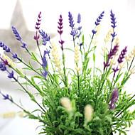 billige Bestselgere-10 Gren Andre Ekte Touch Lyseblå Bordblomst Kunstige blomster
