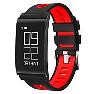 남성용 여성용 스포츠 시계 밀리터리 시계 드레스 시계 회중 시계 스마트 시계 패션 시계 독특한 창조적 인 시계 디지털 시계 손목 시계 중국어 디지털 LCD 슬라이드 규칙 달력 방수 심장 박동수 모니터 큰 다이얼 만보기 피트니스 트렉커 실리콘 밴드
