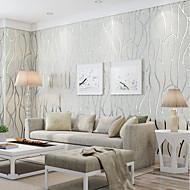 Druck Tapete Für Privatanwender Retro Wandverkleidung , Vliesstoff Stoff Klebstoff erforderlich Tapete , Zimmerwandbespannung