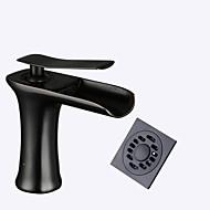halpa -Integroitu Keraaminen venttiili Musta , Kylpyhuone Sink hana