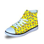 baratos Sapatos de Menino-Para Meninos Sapatos Lona Primavera / Outono Conforto Tênis para Laranja / Amarelo / Azul