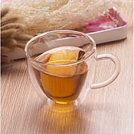 levne Káva a čaj-1ks Sklo Hrnečky kreativita ,  8*8*8