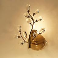 halpa -40 E14 E12 Yksinkertainen Moderni/nykyaikainen Retro Maalaus Ominaisuus for Kristalli Lamppu sisältyy hintaan,Ympäröivä valo Wall Light