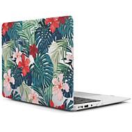 MacBook Kotelo varten MacBook Air 13-tuumainen MacBook Air 11-tuumainen MacBook Pro 13-tuumainen Retina-näytöllä Puu Kukka TPU materiaali