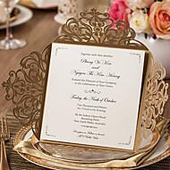 Zamotajte & Pocket Vjenčanje Pozivnice-Pozivnice Classic Style Reljefni papir