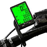 billige Sykkelcomputere og -elektronikk-WEST BIKING® Sykkelcomputer Vanntett Trådløs Smart Følsomhet bakgrunnsbelysning Presisjon LCD Automatisk av / på SPD - Gjeldende Fart