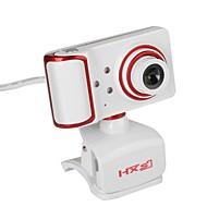 usb webová kamera otočný zaměření úhel pc kamera vestavěný mikrofon / 3 led diody / klip styl / hd displej