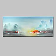 billiga Landskapsmålningar-mintura® handmålade abstrakta landskap oljemålning på kanfas modern väggkonst bild för heminredning redo att hänga