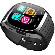 baratos -bluetooth smart watch novo m26 impermeável smartwatch pedômetro anti-perdido musica ios telefone android pk a1 dz09
