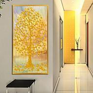 Botanisk Innrammet Kunstrykk Frame Art Veggkunst,Legering Materiale med ramme For Hjem Dekor Rammekunst Stue 1 Deler