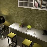 Linjer / bølger Tapet til Hjemmet Moderne / Nutidig Tapetsering , U-vevet stoff Materiale selvklebende nødvendig bakgrunns , Tapet