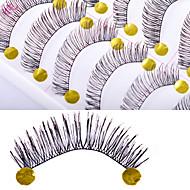 10 pcs Øjenvippe Falske øjenbryn Makeup Damer / Dame / Øjne Længerevarende Naturlig Glat Kosmetiske Plejemidler