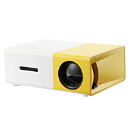 billige -yg300 hjemmekino kino usb hdmi av sd mini bærbar hd led lcd projektor hjemmemedia film spiller støtte 1080p av, usb, sd kort, 320 x 240 hdmi / usb / av / cvbs for hjemmekontoret