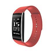 tanie Inteligentne zegarki-Inteligentne Bransoletka Ekran dotykowy Pulsometr Wodoszczelny Spalone kalorie Krokomierze Rejestr ćwiczeń Śledzenie odległości