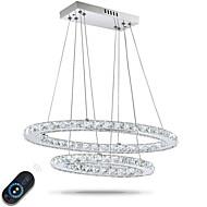 Χαμηλού Κόστους Ανώτατα φώτα οροφής-Κρεμαστά Φωτιστικά Ατμοσφαιρικός Φωτισμός - Κρυστάλλινο, Ρυθμιζόμενο, Με ροοστάτη, 110-120 V / 220-240 V, Dimmable Με τηλεχειριστήριο,