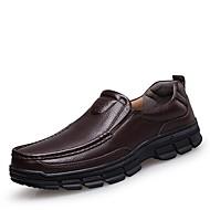 Homme Chaussures Vrai cuir Cuir Nappa Cuir Printemps Automne Chaussures formelles Chaussures de plongée Mocassins et Chaussons+D6148 Pour