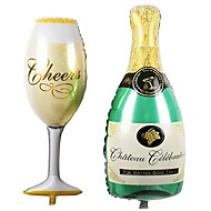 2pcs / lot decoratie ballon champagne en kopballonnen bruiloft decoraties verjaardagspartij accessoire