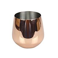 drinkware, 500 ml de ouro rosa em aço inoxidável vinho coquetel de vinho