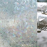 Geometrico Adesivo de Janela,PVC/Vinil Material Decoração de janela