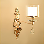 baratos Arandelas de Parede-Ecolight™ Cristal Luminárias de parede Metal Luz de parede 220-240V 40 W / E14
