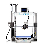 raiscube prusa i3 impressora 3d 210 * 210 * 225mm 300mm / s cor prateada