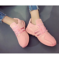 cheap Women's Shoes-Women's Shoes Canvas Spring Summer Comfort Sneakers for Casual White Black Pink