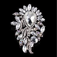 Dame Brocher Smykker Enkelt design Legering Cirkelformet Smykker Til Bryllup Fest
