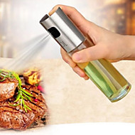 1pc  Kitchen Stainless Steel Leak proof Oil Condiment spout  bottle