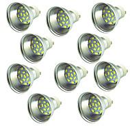 billige Spotlys med LED-10 stk 3W 300 lm LED-spotpærer 15 leds SMD 5730 Dekorativ Varm hvit Kjølig hvit