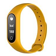 tanie Inteligentne zegarki-Inteligentne Bransoletka Ekran dotykowy Pulsometr Wodoszczelny Spalone kalorie Krokomierze Rejestr ćwiczeń Długi czas czuwania Informacje