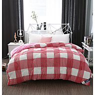 cheap Quilts & Coverlets-Comfortable 1pc Quilt, Hand-made Polyester Hand-made Polyester Reactive Print Checkered / Gingham