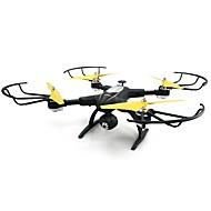 RC Drone JJRC H39WH 4 Kanal Med HD-kamera 720P Fjernstyret quadcopter Hovedløs Modus Fjernstyret Quadcopter Fjernstyring Kamera USB-kabel