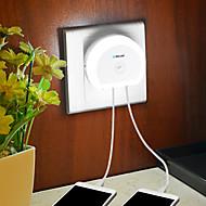 BRELONG® 1 stk LED Night Light Opladere Hvid Lysstyring Trådløs Nemt at bære