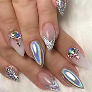 0.15g skinnende regnbue nagel kunst holografisk pulver gradient laser manikyr skjønnhet pigment spiker kunst diy neglelakk støv glitter